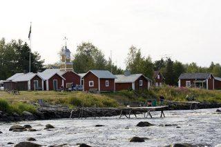 Kulturbyn i Kukkolaforsen